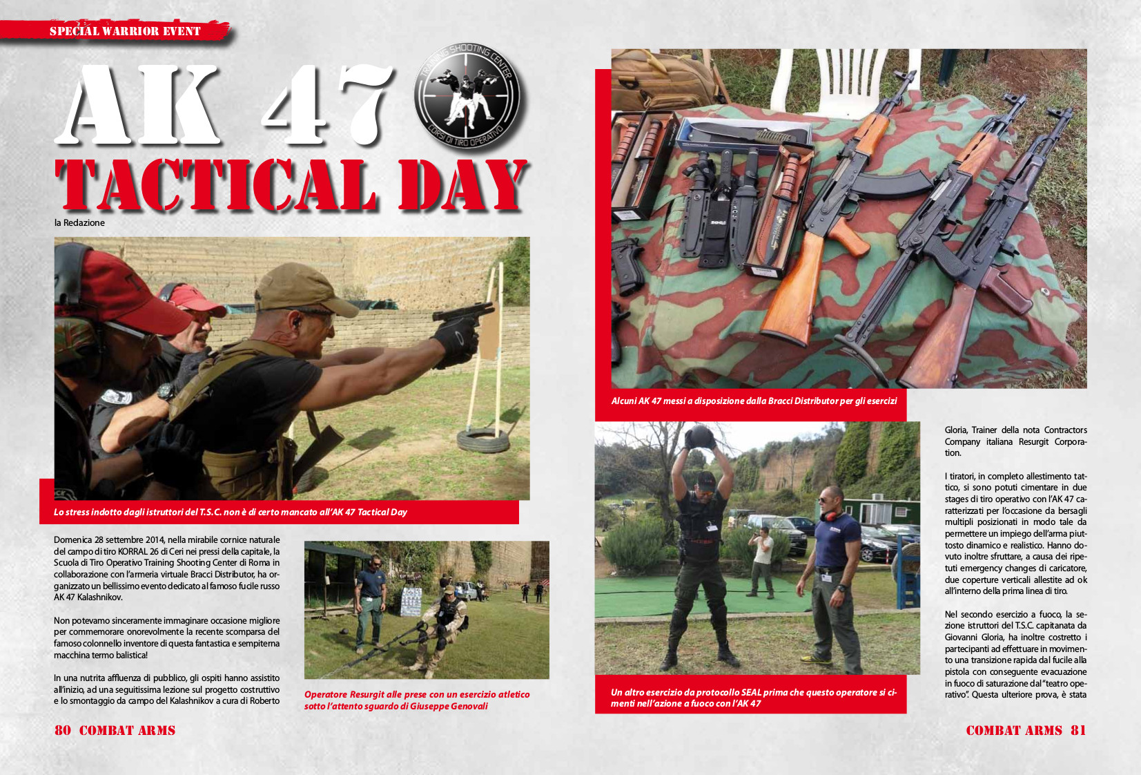 AK 47 TACTICAL DAY 2014