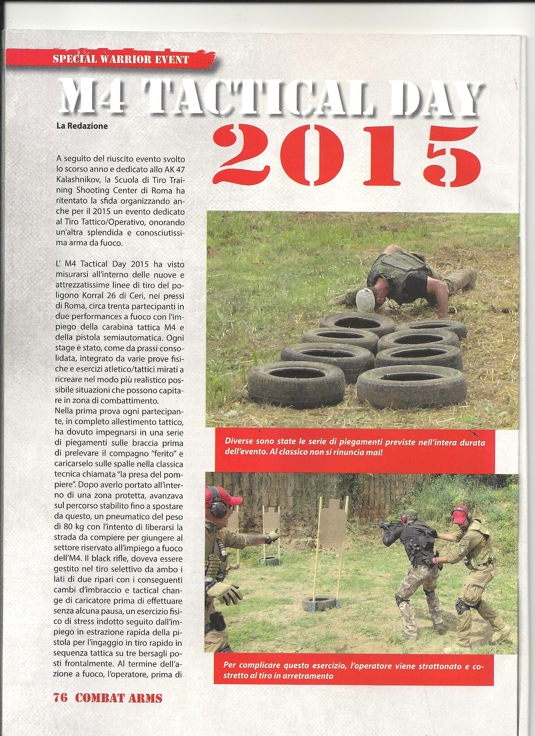 M4 TACTICAL DAY 2015